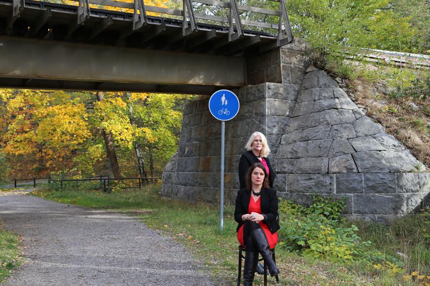 Christina Öst och Eva Häggmark.