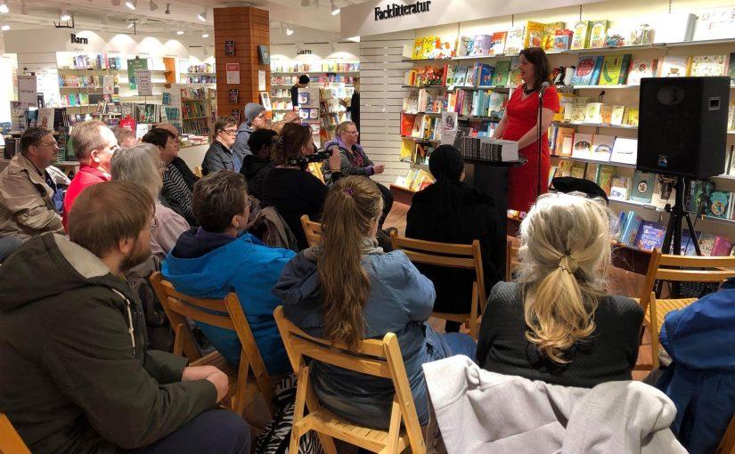 Välbesökt författarträff i Skellefteå